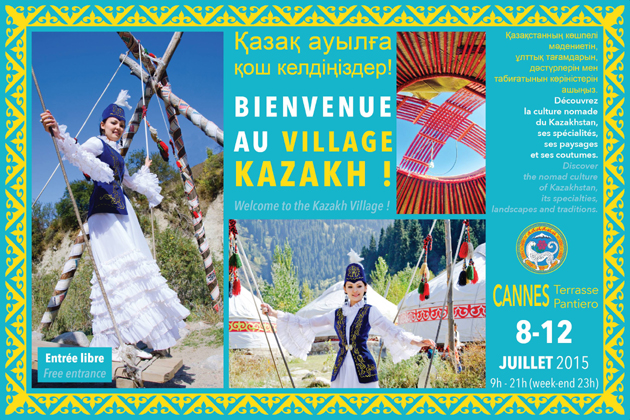 Cannes Destination VillageKazakh