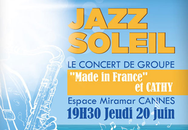 Cannes Destination jazz-soleil